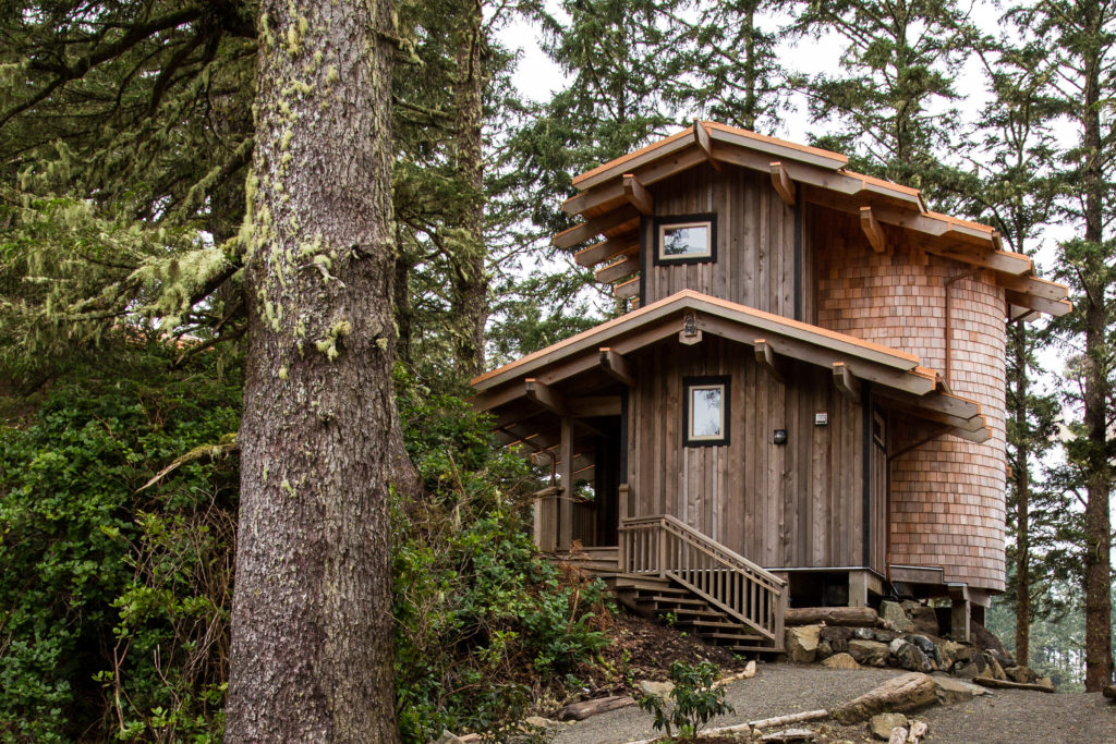 Ucluth Lodges at Wya Point Resort. Photo: Stay & Wander / Destination BC